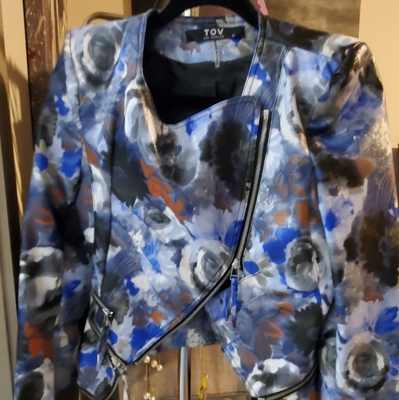 TOV PU Jacket